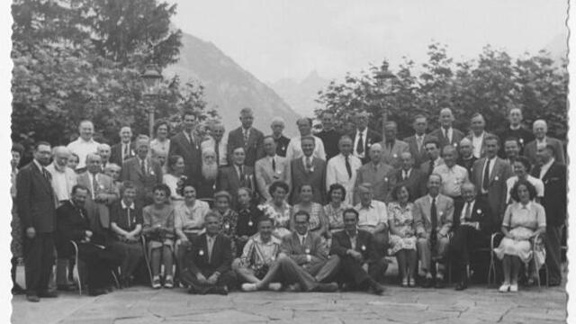 """Photo: """"Archiv für Zeitgeschichte"""" (Ecole polytechnique fédérale de Zurich), IB JUNA-Archiv / 853"""